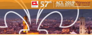 CoLing Lab Local Organizer of ACL 2019 🗓 🗺